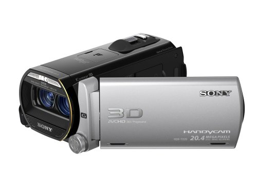 Sony TD20 - Full HD 3D Recording Camcorder - Black (64 GB, 20.4MP, 10x Optical Zoom) 3.5 inch LCD