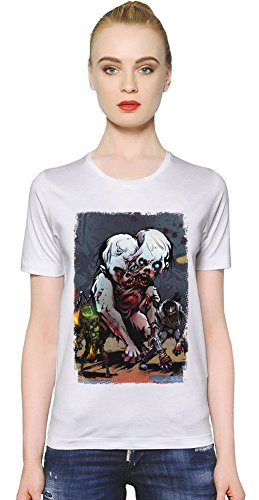 yaiba-ninja-gaiden-z-ugly-zombie-t-shirt-de-la-femme-women-t-shirt-girl-ladies-stylish-fashion-fit-c