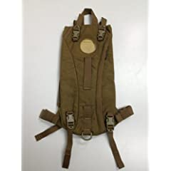 USMC COYOTE BROWN TACTICAL 3L HYDRATION SYSTEM CARRIER USGI MILITARY ISSUE by Source