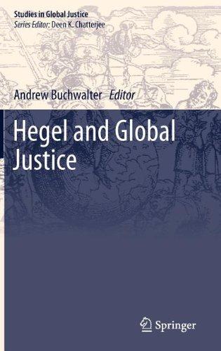 Hegel and Global Justice (Studies in Global Justice)