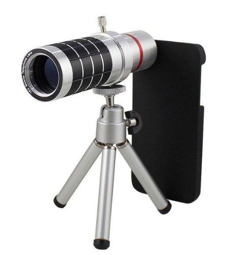 Goliton® 16X Zoom Magnifier Micro Telephoto Telescope Camera Lens Tripod For Samsung Galaxy S4/I9500/I9505/I9508/ I9502