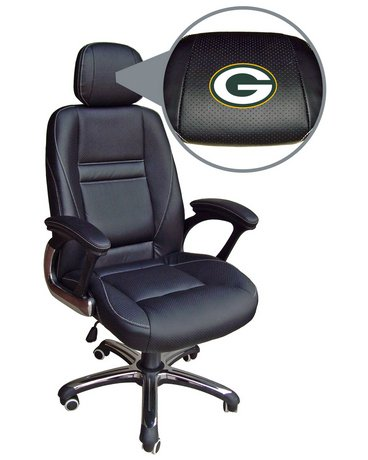 Green Bay Packers Head Coach Office Chair at Amazon.com