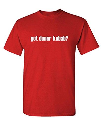 Got Doner Kebab? - Mens Cotton T-Shirt, M, Red