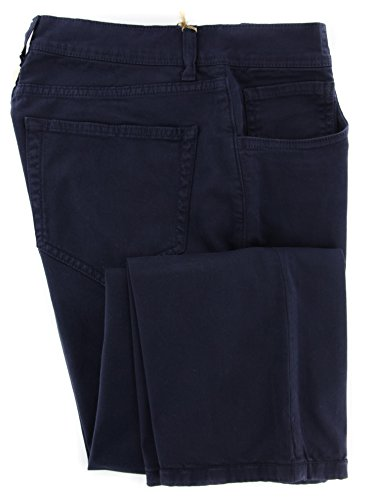 loro-piana-navy-blue-solid-pants-slim-32-48