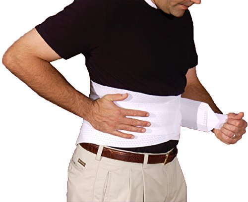 XXX-Large Back Brace With Ventilated Elastic / Lumbosacral Support / Abdomen Support
