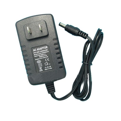 Ggl Xy Universal 110/220V Ac To Dc 12V 2A 24W Adapter Power Supply Unit Converter Transformer Driver With Power Cable Cord And Eu Plug - Ideal For Led Flexible Strip Light Lamp Cctv Security Camera Monitor Audio Video Radio Industrial Automation Control N