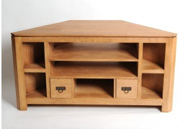 Meuble angle pas cher for Petit meuble tv angle