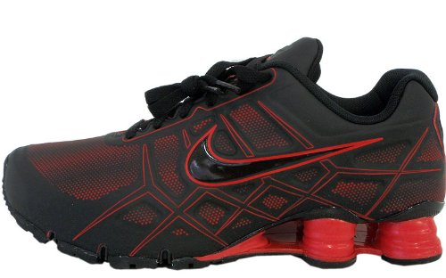 13aa1418e326 The Best Shoes  Nike Shox Turbo Xii Sl Blk red 472531-060 Mens Sz ...