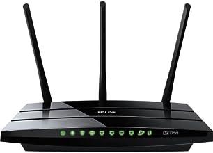 TP-LINK Archer C7 AC1750 Dual Band Wireless AC Gigabit Router, 2.4GHz 450Mbps+5Ghz 1350Mbps, 2 USB Ports, IPv6, Guest Network, Version 2