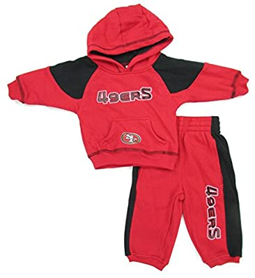 San Francisco 49ers Boy's Rusher Hoodie & Pant Fleece Set