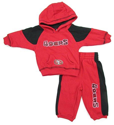 Men's San Francisco 49ers Majestic Scarlet Swift Motion Fleece Sweatpants