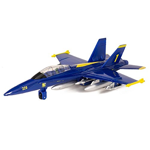 Die Cast Pull Back Blue Angel