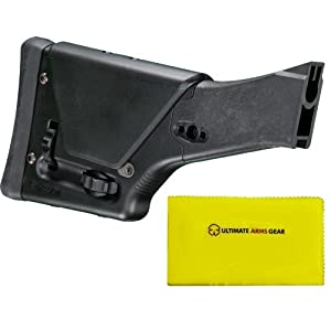 Magpul Industries MAG 341 PRS2 PRS 2 FAL Stealth Black Precision Buttstock Sniper... by MAGPUL