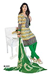 DARPAN TEXTILES Ethnicwear Women's Dress Material Multi-Coloured_Free Size