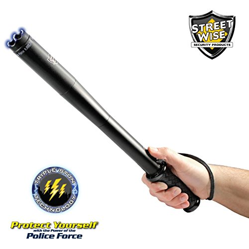 Streetwise Security Products Police Force 9,000,000-Volt Tactical Stun Baton Flashlight