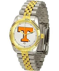 Tennessee Volunteers Vols UT Mens Two Tone Gold Dress Watch by SunTime