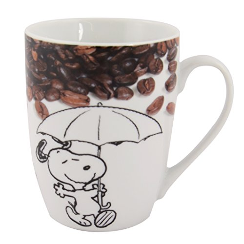 "United Labels AG 0121741 Peanuts Snoopy tazza "" Coffee is not just a drink... """