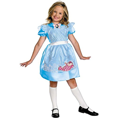 Classic Alice in Wonderland Toddler Costume - 3T-4T