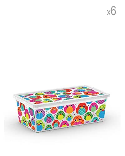 Kis Set 6 C Box Xs Multicolore