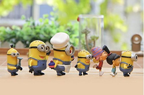 AAAGreatest-Gift-New-12pcs-4-7cm-Despicable-Me-Minion-Gru-Orphans-Girls-PVC-Miniature-Action-Figure-Toys-Collection-Model-Toy-Gift-Retail-Package