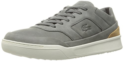 Lacoste Men's Explorateur 316 2 Cam Fashion Sneaker, Grey, 12 M US