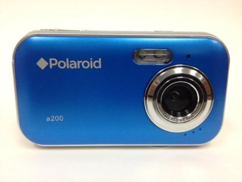Polaroid CAA-200LC 2MP CMOS Digital Camera with 1.44-Inch LCD Display (Blue)