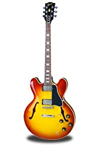 Gibson Larry Carlton ES-335 Electric Guitar, Vintage Sunburst