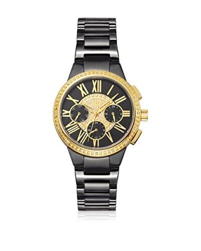 JBW Reloj con movimiento japonés Woman Helena Negro 38 mm