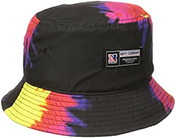 Amazon.com: neff Men's Tie Dye Bucket Hat, Black, One Size ...