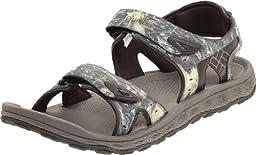 Columbia Men\'s Techsun III Camo Sandal,Mud,13 M US