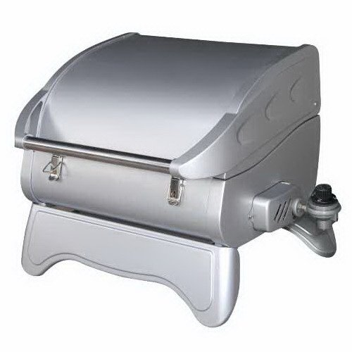 Dansons Little Guy Infrared Portable Propane Gas Grill, Stainless-Steel