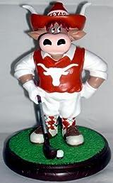 Texas Longhorn Mascot Golfer