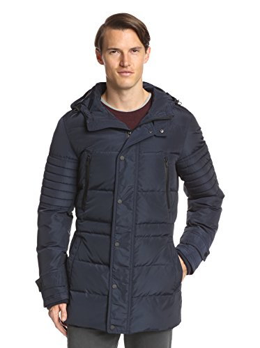 7 for All Mankind Men's Quilted Down Parka Jacket