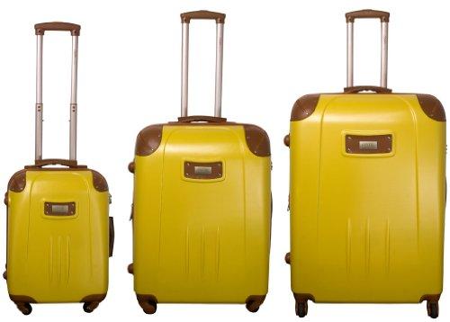 Trolley-Koffer-Set 3-tlg. - 78-68-53cm - TSA