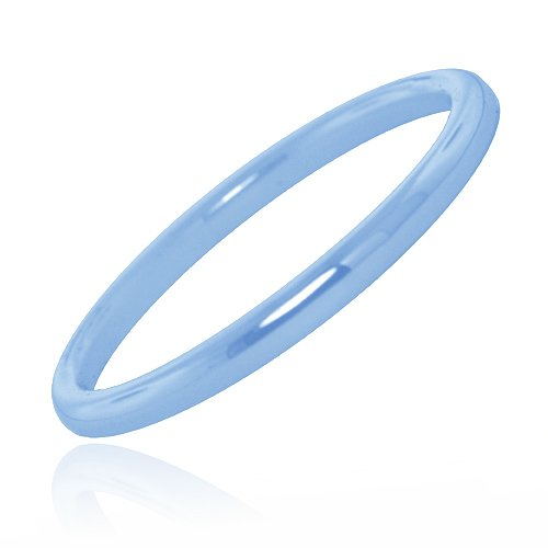 Glass Fashion Blue Color Bangle
