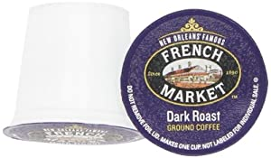 French Market Coffee Roast Single Serve Cups