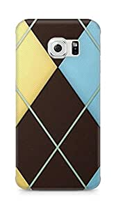 Amez designer printed 3d premium high quality back case cover for Samsung Galaxy S6 Edge (Abstract Colorful 1)