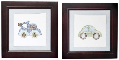 Kids Line Wall Art, Mosaic Transport (Discontinued by Manufacturer)