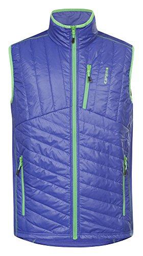 Gilet in pile icepeak-giacca uomo Brian, Blue, M, 458999684 I