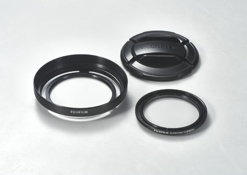 Fuji LHF-X20 Gegenlichtblendenset schwarz