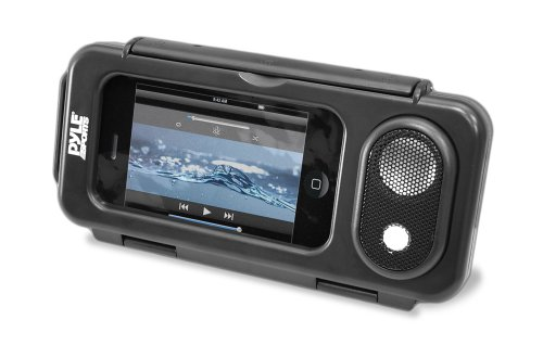 Pyle Pwps63Bk Surf Sound Waterproof Portable Speaker Case For Ipod, Mp3 Player And Smartphone , Black