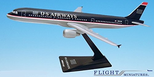 US Airways (97-05) A321-200 Airplane Miniature Model Plastic Snap Fit 1:200 Part# AAB-32100H-009 (Us Airways Model Airplane compare prices)