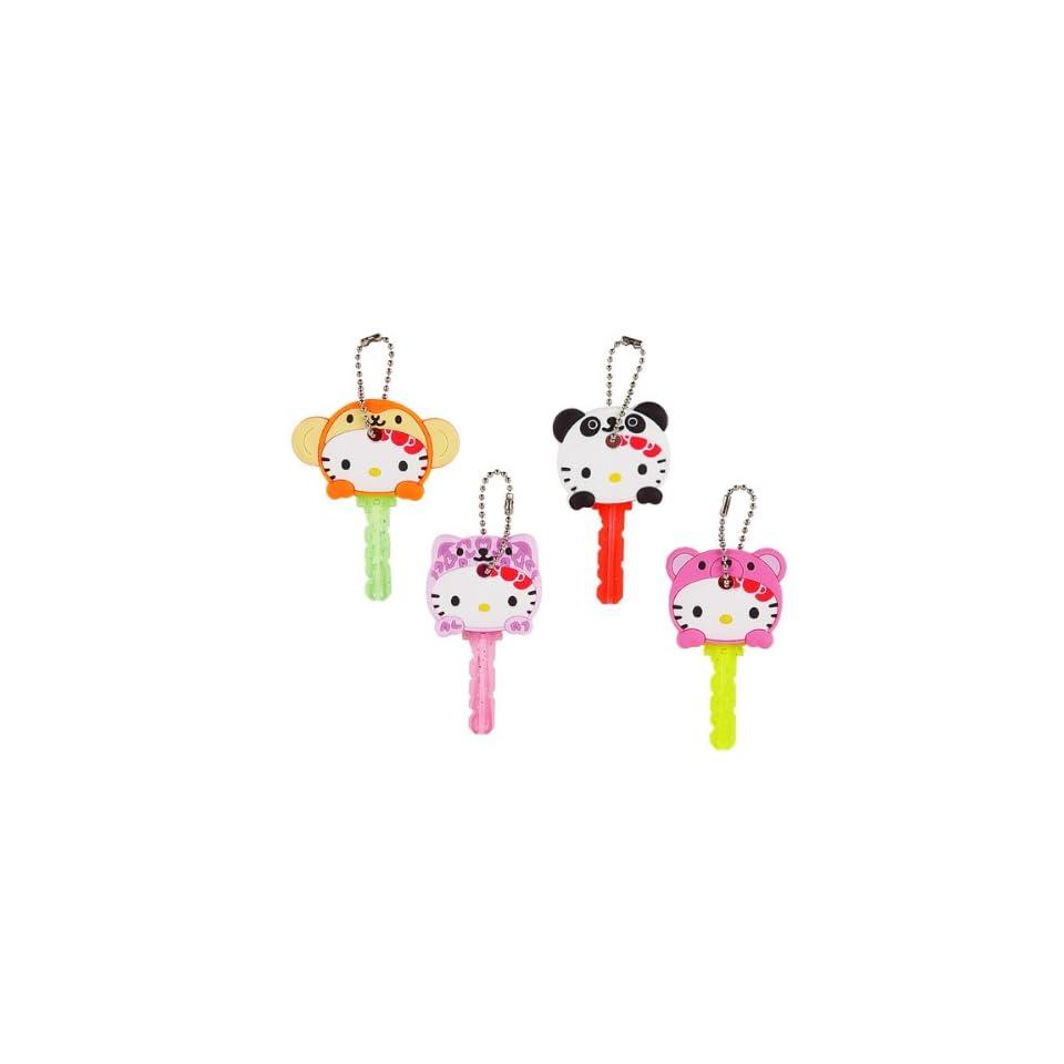 Japanese Sanrio Hello Kitty ANIMAL KEY CAP a set of 4