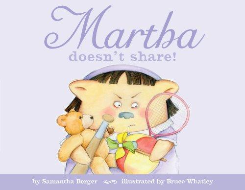 Martha doesn't share!