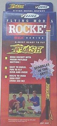 Estes #2137 - Flash Flying Model Rocket Kit