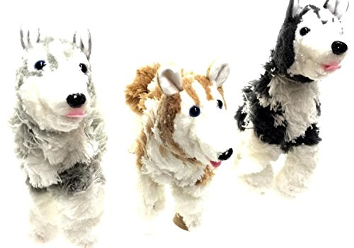 3-Marionette-Husky-Dog-Puppets-12-Husky-Dog-Puppets-Marionette-Puppets-Assorted-colors