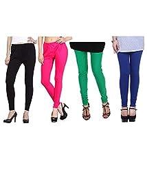Shiva collections Black/pink/green/blue cotton legging
