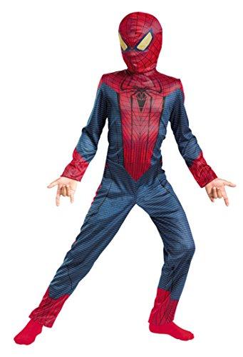 Boys Spider-Man Movie Classic Kids Child Fancy Dress Party Halloween Costume, S (4-6)