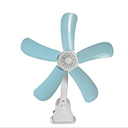 YONG Multi-function Mini fan 5 blade clamps fan