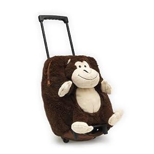 Intelex Novelty Childrens Luggage Monkey